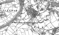 Old Map of Brockhampton, 1887