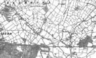 Old Map of Brockhurst, 1900