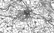 Old Map of Bromyard, 1885