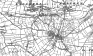 Old Map of Brookhouse, 1890