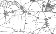 Old Map of Brooks End, 1905 - 1906