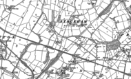 Old Map of Brookvale, 1879 - 1908