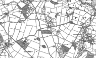 Old Map of Broomfields, 1881