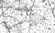 Old Map of Broomhall, 1897