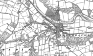 Old Map of Broomhaugh, 1895
