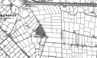 Old Map of Brothertoft, 1887