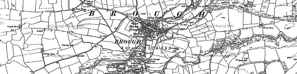 Old map of West View in 1897