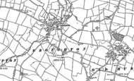 Map of Broughton, 1887