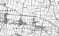Old Map of Broughton, 1889 - 1890