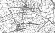 Old Map of Broughton, 1897