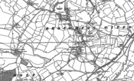 Old Map of Broughton Gifford, 1899 - 1922