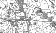 Old Map of Brownhill, 1880 - 1881