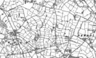 Old Map of Brownlow, 1897 - 1908