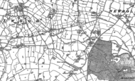 Old Map of Brownlow Heath, 1897 - 1908