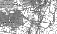 Old Map of Broxbourne, 1896 - 1915