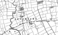 Old Map of Broxholme, 1885 - 1886