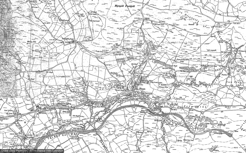 Old Maps of Cwm Nant-y-glo - Francis Frith Glo Maps on gpt map, gev map, gus map, dan map, givenchy map, globe map, goa map, gog map,