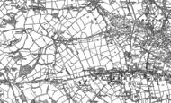 Old Map of Bryn-y-baal, 1898 - 1910