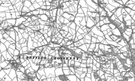 Old Map of Brynderi, 1899 - 1900