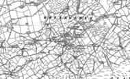 Old Map of Bryneglwys, 1899 - 1910