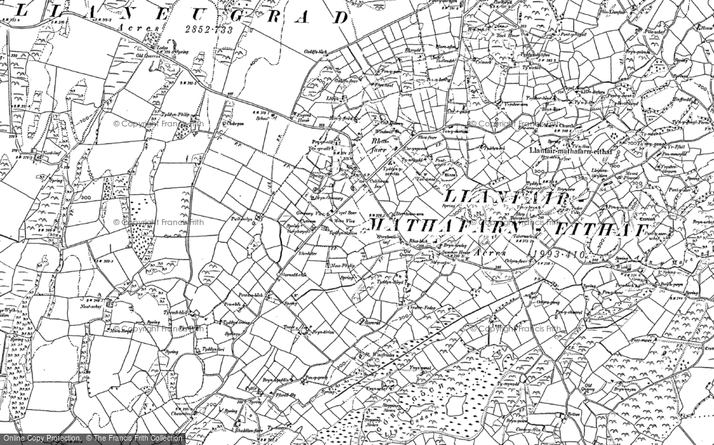 Brynteg, 1887 - 1899