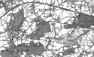 Old Map of Buckland, 1895