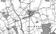 Old Map of Buckland, 1896