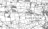 Old Map of Buckland Ripers, 1886 - 1902