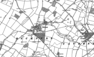 Old Map of Bucknell, 1898 - 1920