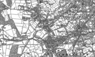 Old Map of Buckpool, 1901