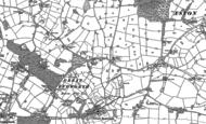Old Map of Budworth Heath, 1897