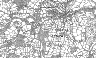 Old Map of Builth Wells, 1903
