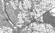 Old Map of Bullbridge, 1879