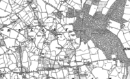 Old Map of Bulley, 1882