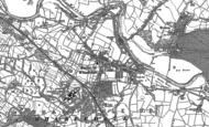 Old Map of Burley in Wharfedale, 1889 - 1907
