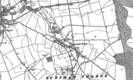 Old Map of Burnham Thorpe, 1886
