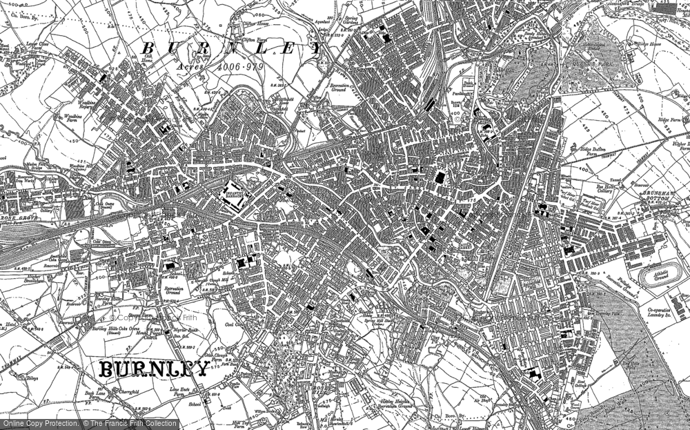 Old Maps of Burnley - Francis Frith Map Of Burnley on map of swindon, map of darlington, map of york, map of heysham, map of haywards heath, map of middleton, map of march, map of london gatwick airport, map of tandragee, map of reading, map of forest of dean, map of lancashire, map of margate, map of england, map of coleraine, map of tarleton, map of newcastle central, map of eastleigh, map of nailsworth, map of chipping campden,