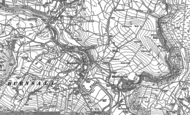 Old Map of Burnsall, 1907