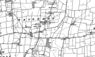 Old Map of Burnt Mills, 1895