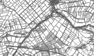 Old Map of Burrowbridge, 1885 - 1887