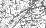 Old Map of Burscough, 1891 - 1893