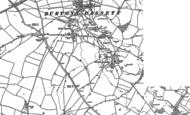 Old Map of Burton Dassett, 1885 - 1904