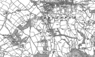 Old Map of Bury End, 1883 - 1900