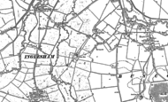 Old Map of Buscot Wick, 1910