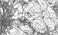 Old Map of Bushey, 1911 - 1934