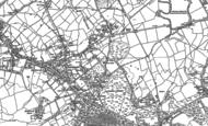 Old Map of Bushey Heath, 1911 - 1913