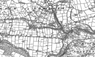 Old Map of Butterknowle, 1896