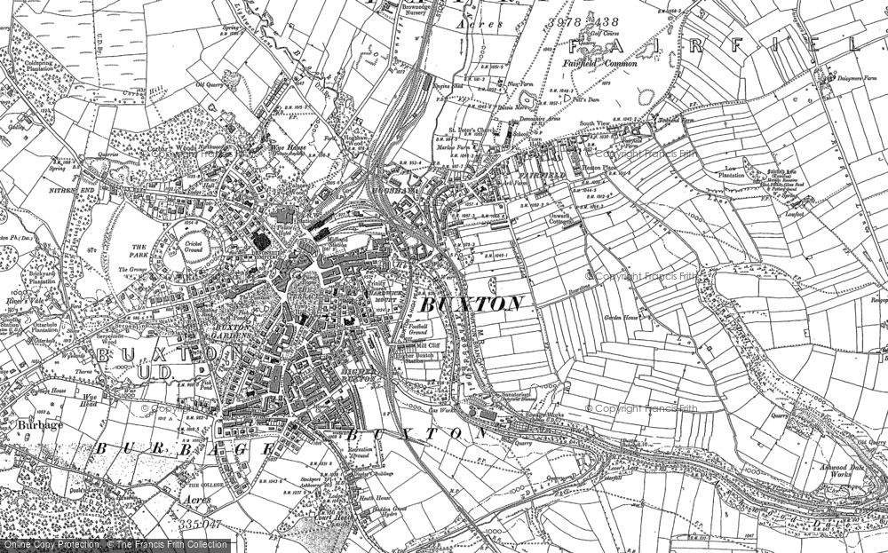 Map of Buxton, 1897