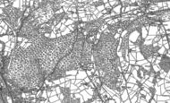 Old Map of Bwlch-y-cwm, 1898 - 1915