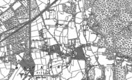 Old Map of Byfleet, 1895